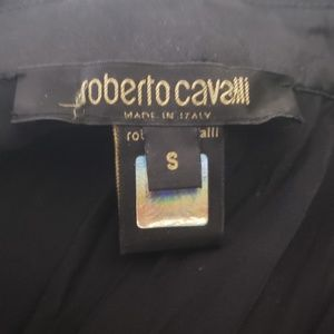 Roberto Cavalli Tops - Roberto Cavalli Silk Charm Shirt